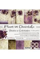 Craft O'Clock Craft O'Clock  Plum in Chocolate  20.3 x 20.3 cm