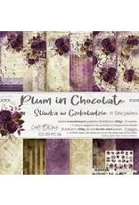 Craft O'Clock Craft O'Clock  Plum in Chocolate  15.2 x 15.2 cm