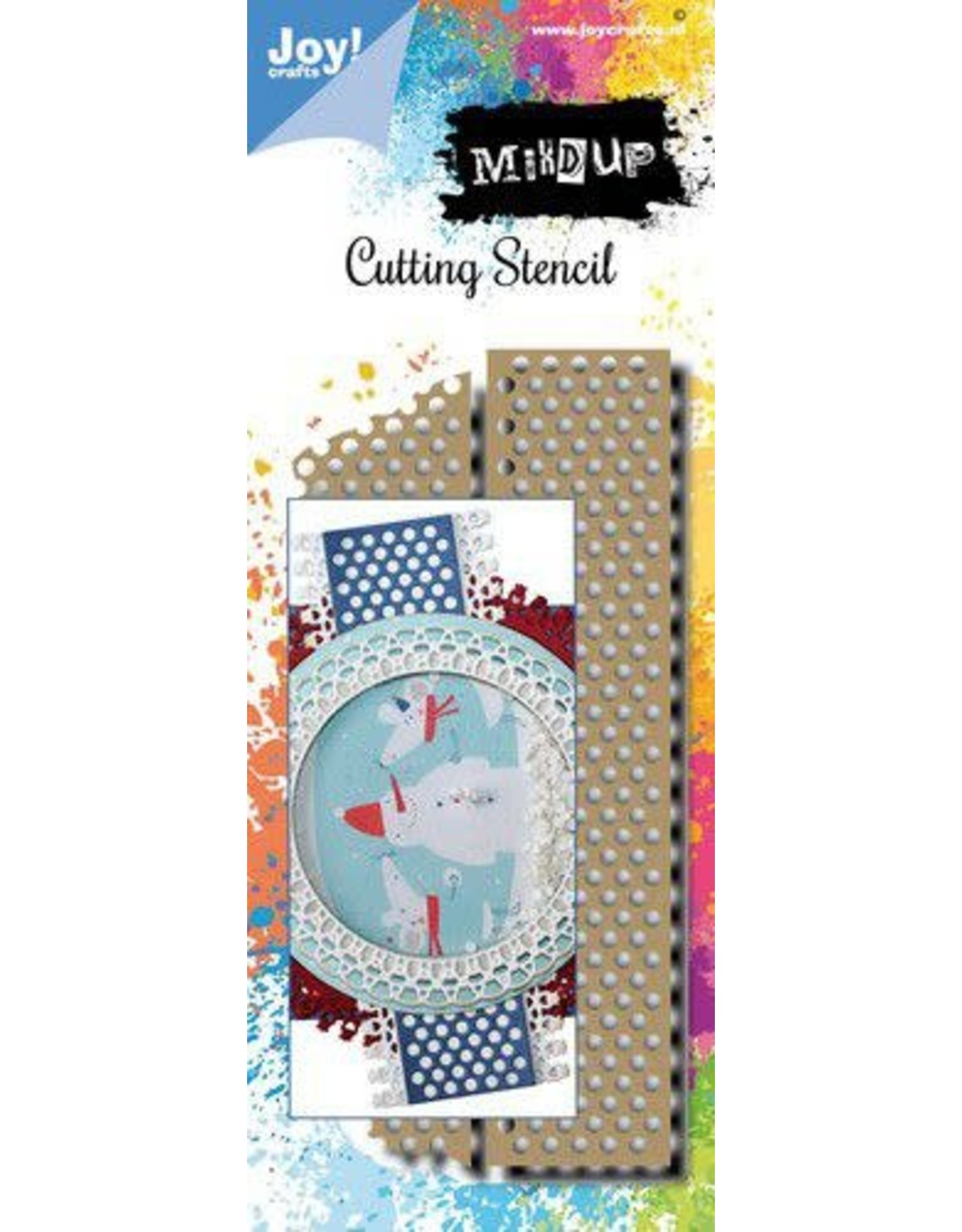 Joy Craft Joy! Crafts Stansmal - Noor - Mixed Up - Tape 6002/1564 139x61,5mm
