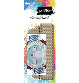 Joy Craft Joy! Crafts Stansmal - Noor - Mixed Up - Tape 6002/1564 139x61,5mm