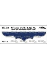 Crealies Crealies On the edge XL Die stans no 32 CLOTEXL32 20,8cm