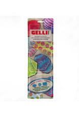 Gelli art Gelli Arts - Gel Printing Plate set ovaal,hexagon,Rectangle GELOHR