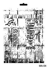 Cadence Cadence Mask Stencil MA - tickets 03 021 0004 21X29cm