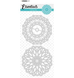 Studio Light Studio Light cut. Die Mandala Essentials nr.385 STENCILSL385 106x213mm