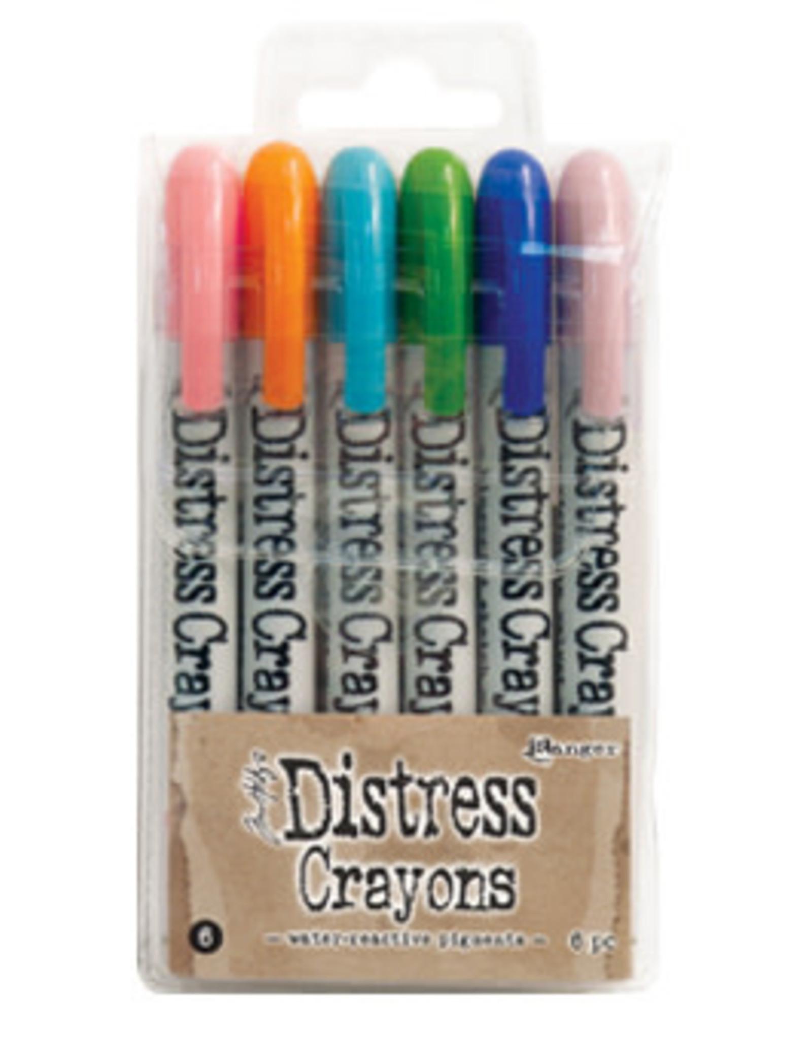 Ranger Ranger Distress Crayons set 6 TDBK51763