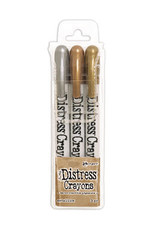 Ranger Ranger Distress Crayons set  Metallics TDBK58700