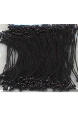 hobby crafting fun Meeldraadjes parel zwart 1 mm 144 ST