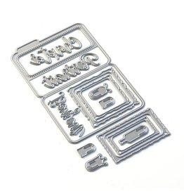 Elizabeth Craft Designs Elizabeth Craft Designs Sidekick Essentials 14 - Bonjour Fold Out 1836