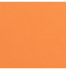 Vaessen Creative Vaessen Creative Florence Cardstock texture 30.5 x 30.5 cm  Mandarin