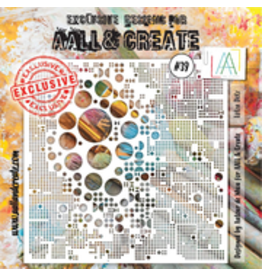 Aall& Create Aall & Create 6' x 6' stencil #39