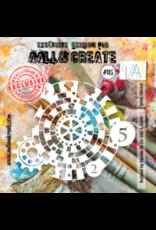 Aall& Create Aall & Create 6' x 6' stencil #115