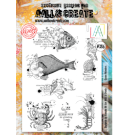 Aall& Create Aall & Create A4 stamps #386