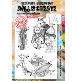 Aall& Create Aall & Create A5 stamps #390