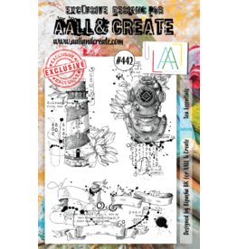 Aall& Create Aall & Create A5 stamps #442
