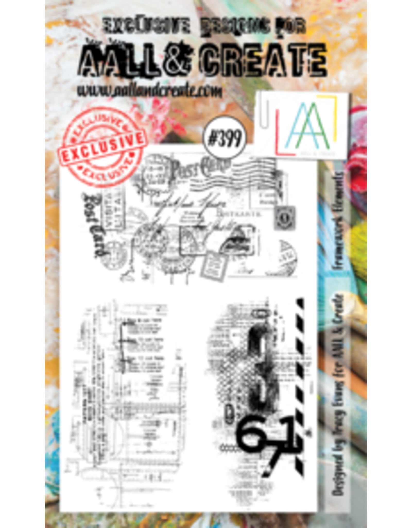 Aall& Create Aall & Create A6 stamps #399