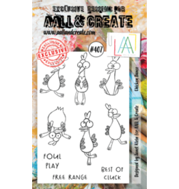 Aall& Create Aall & Create A6 stamps #407