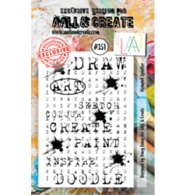 Aall& Create Aall & Create A7 stamps #351