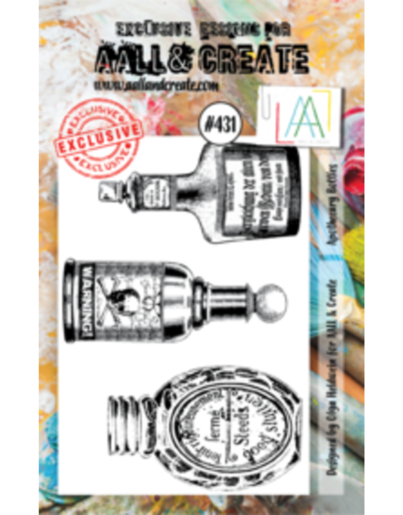 Aall& Create Aall & Create A7 stamps #431
