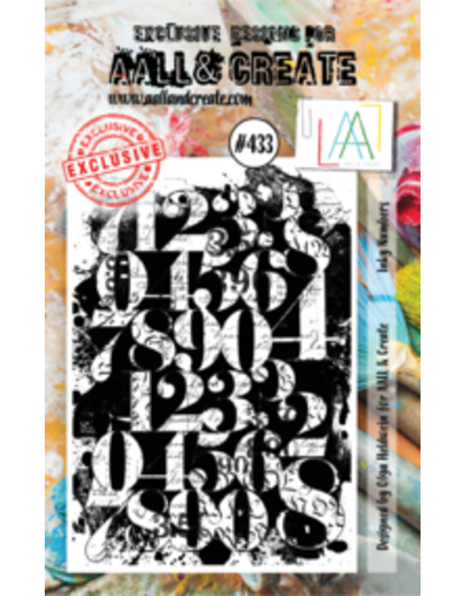 Aall& Create Aall & Create A7 stamps #433