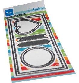 Marianne Design Marianne D Craftable Slim line Banners CR1538 110x260mm
