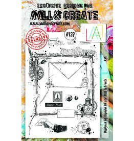 Aall& Create Aall & Create  A5  stamps #159