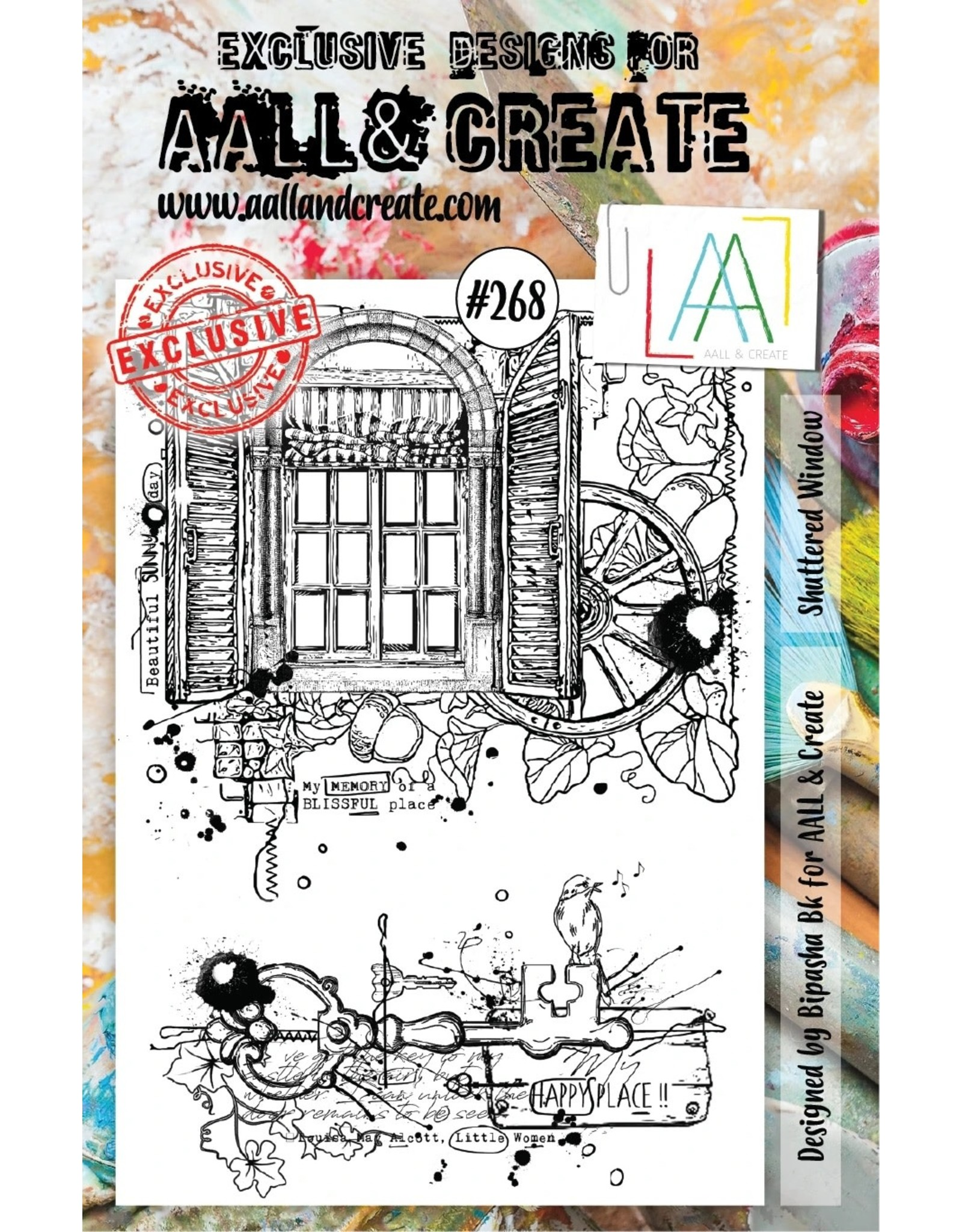 Aall& Create Aall & Create A stamps #268