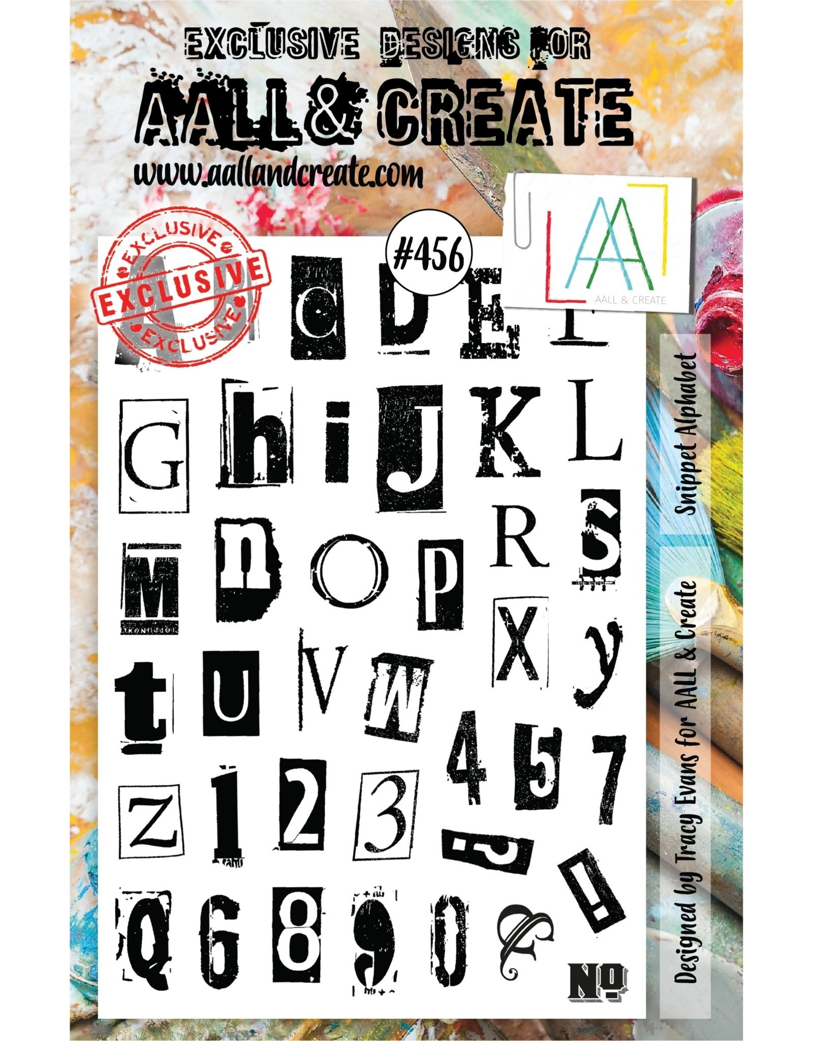 Aall& Create Aall & Create  A5 stamps #456
