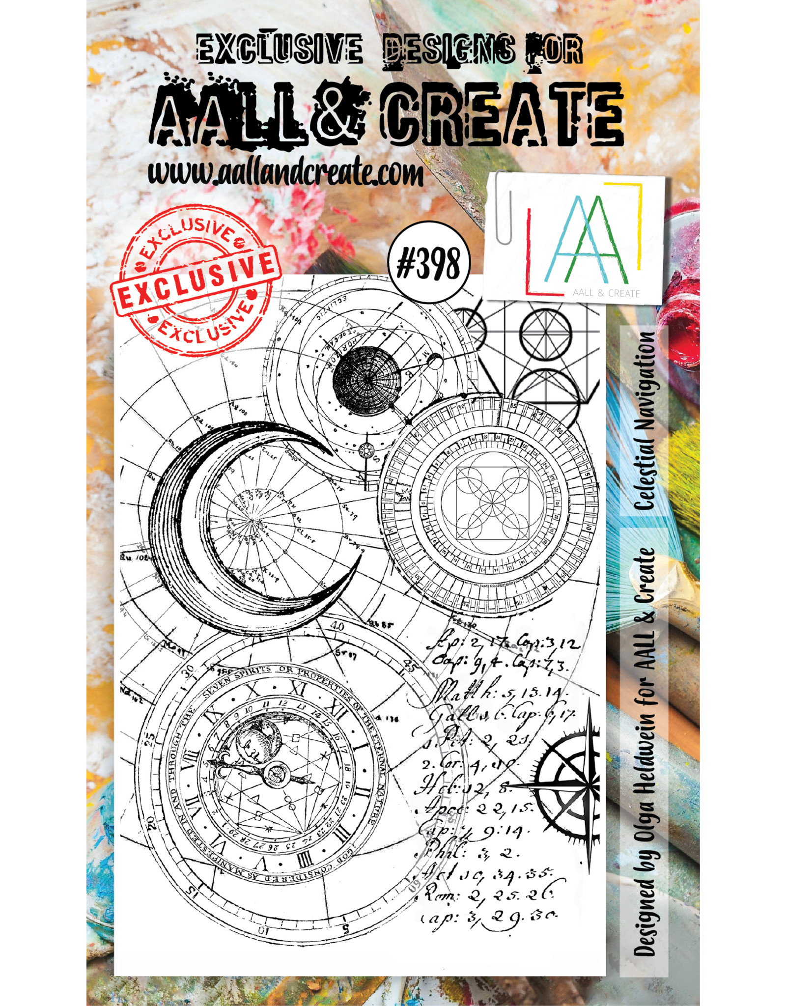 Aall& Create Aall & Create  A6 stamps #398