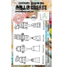 Aall& Create Aall & Create  A6 stamps #406