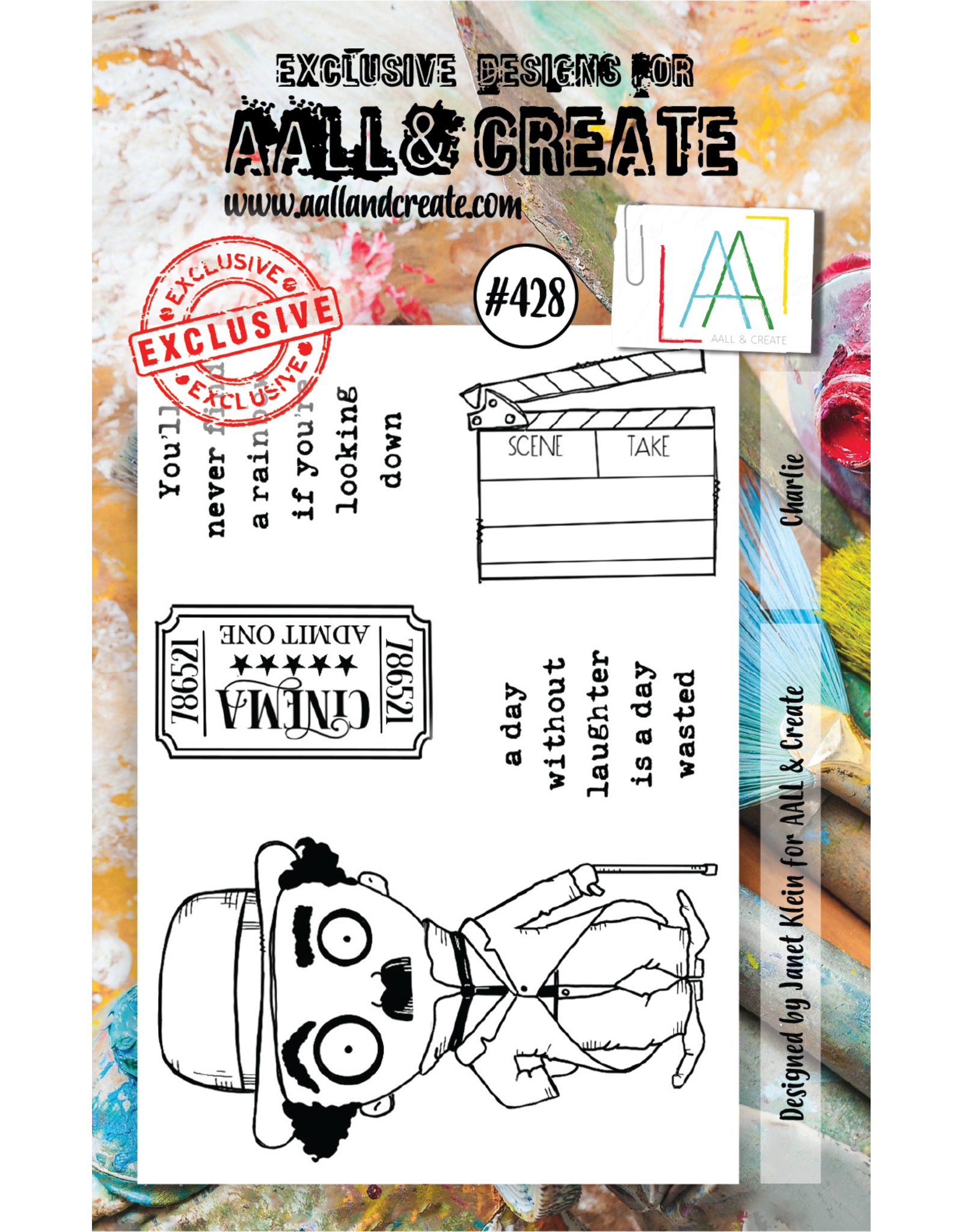 Aall& Create Aall & Create  A7 stamps #428
