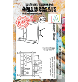Aall& Create Aall & Create  A7 stamps #476