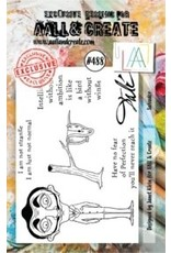 Aall& Create Aall & Create  A7 stamps #488