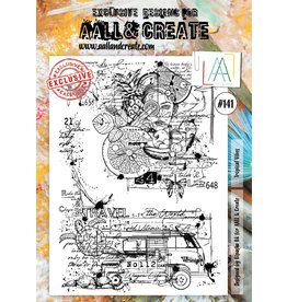 Aall& Create Aall & Create  A4 stamps #141
