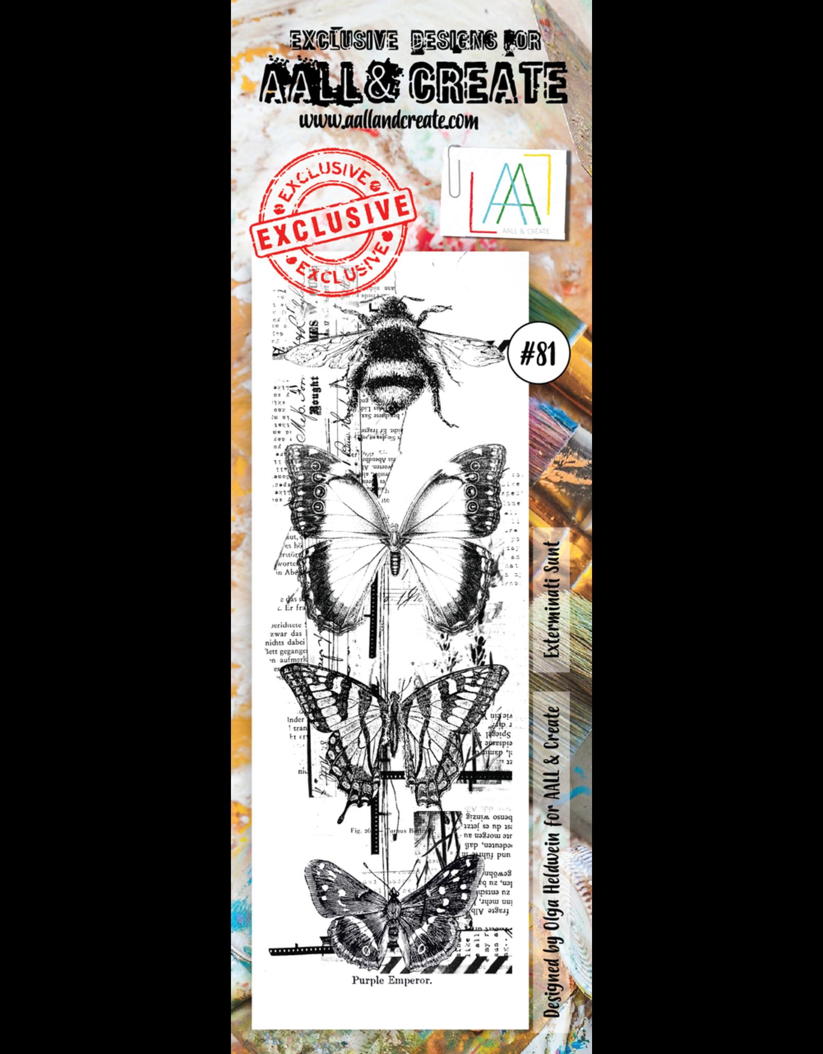Aall& Create Aall & Create  Border  stamps #81