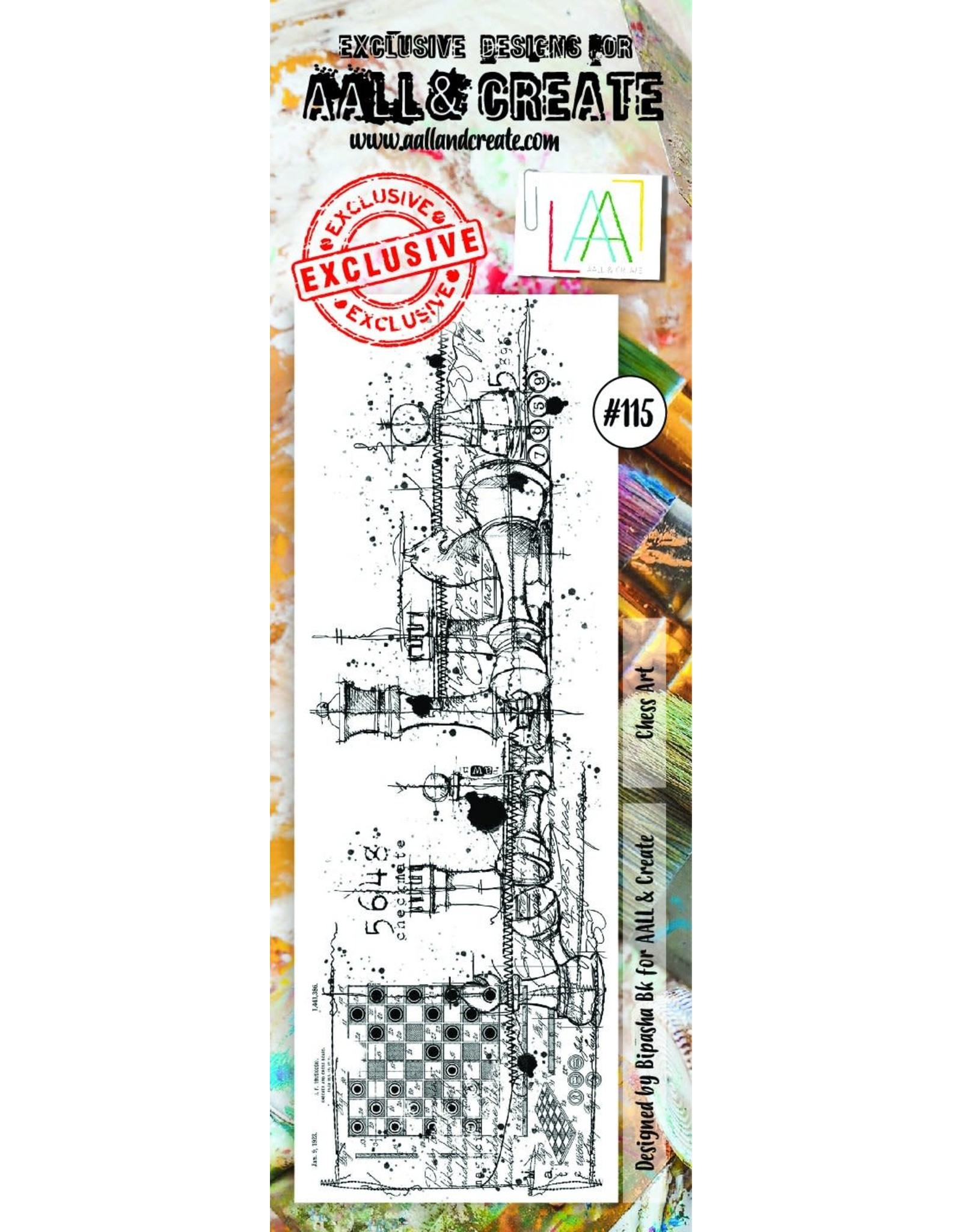 Aall& Create Aall & Create  Border  stamps #115