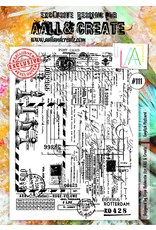 Aall& Create Aall & Create  A4  stamps #111