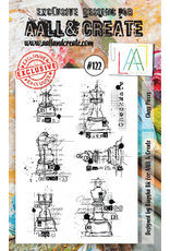 Aall& Create Aall & Create  A6  stamps #122