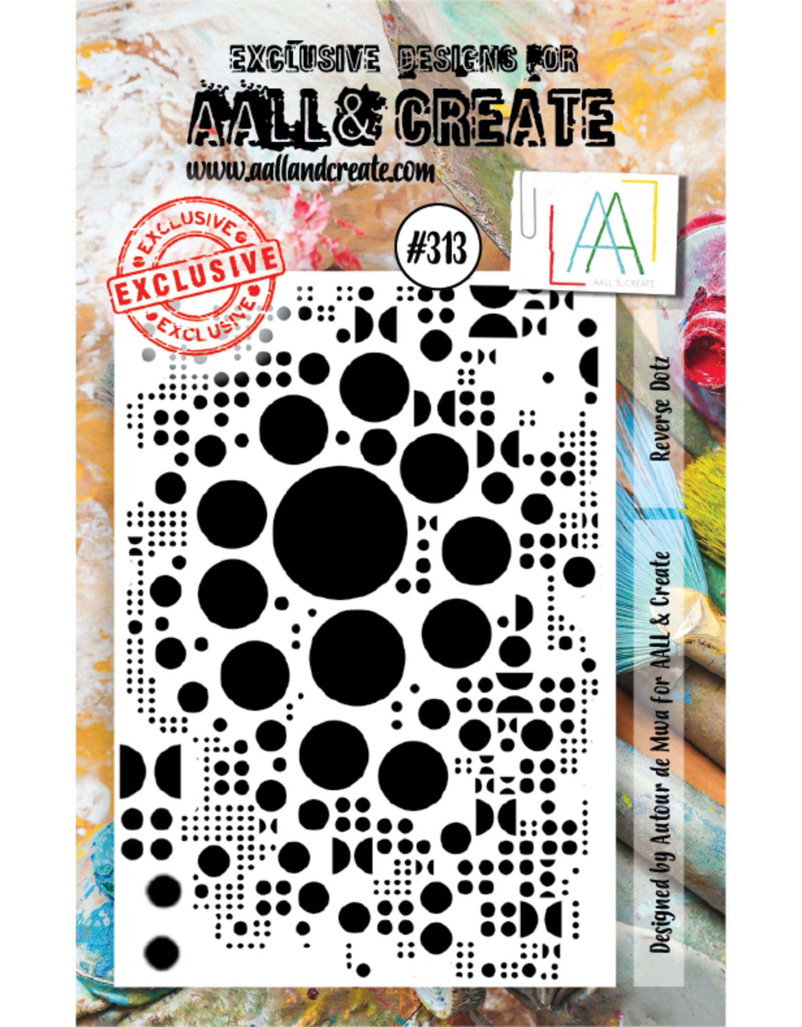 Aall& Create Aall & Create  A7  stamps #313