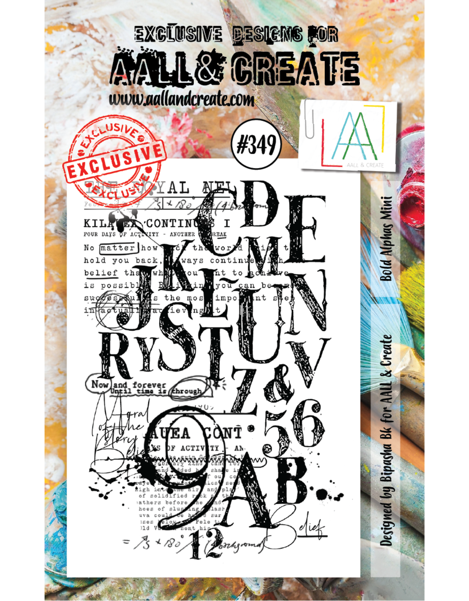 Aall& Create Aall & Create  A7  stamps #349