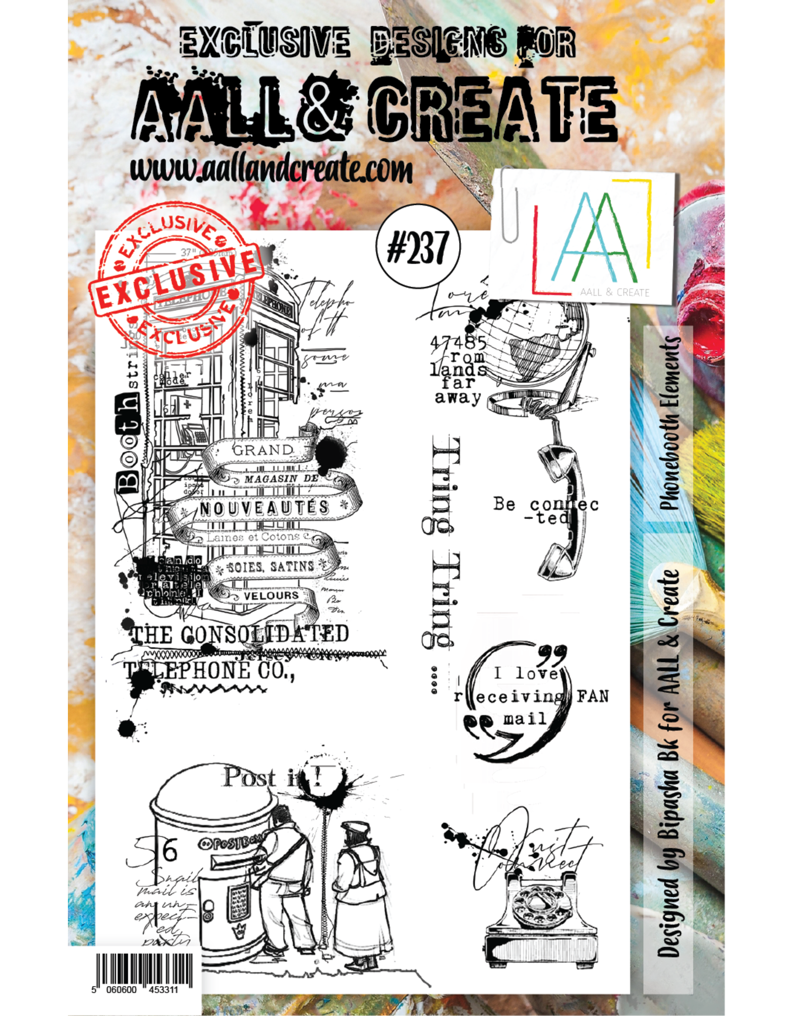 Aall& Create Aall & Create  A5  stamps #237