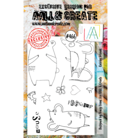 Aall& Create Aall & Create  A6  stamps #466