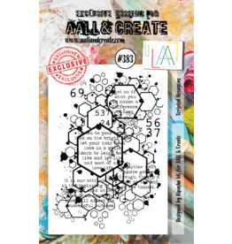 Aall& Create Aall & Create  A7  stamps #383