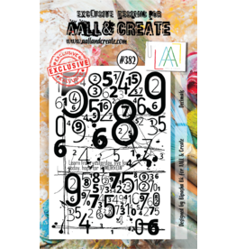 Aall& Create Aall & Create  A7  stamps #382