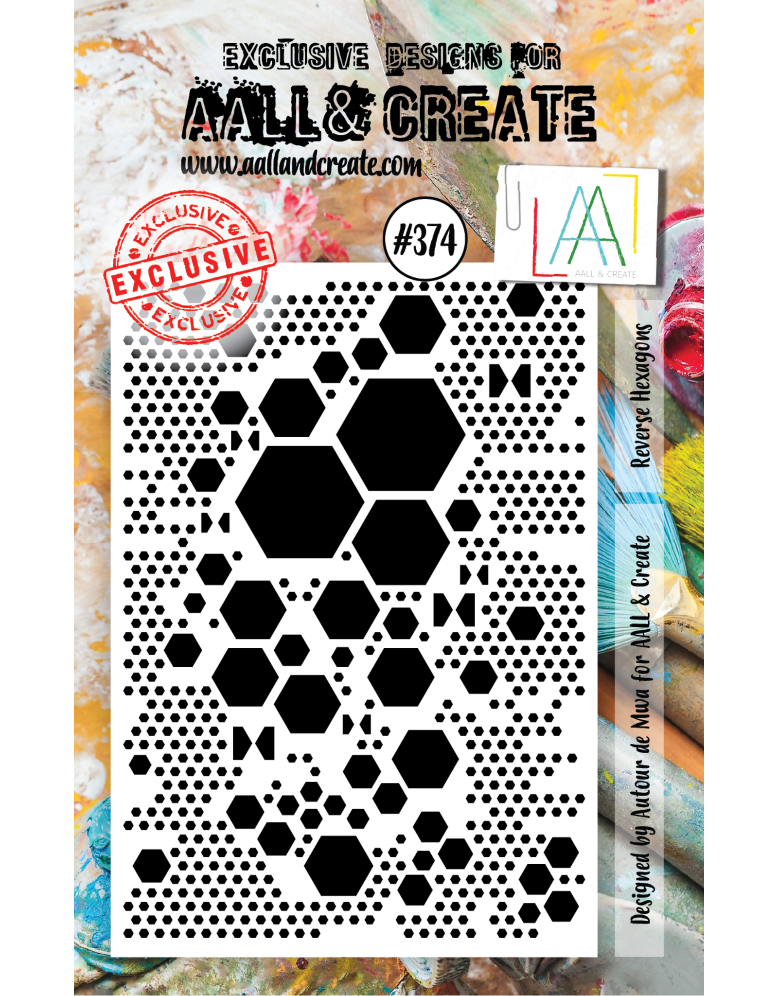 Aall& Create Aall & Create  A7  stamps #374