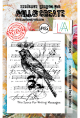 Aall& Create Aall & Create  A7  stamps #435
