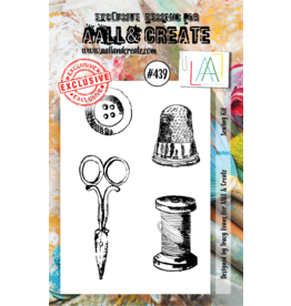 Aall& Create Aall & Create  A7  stamps #439