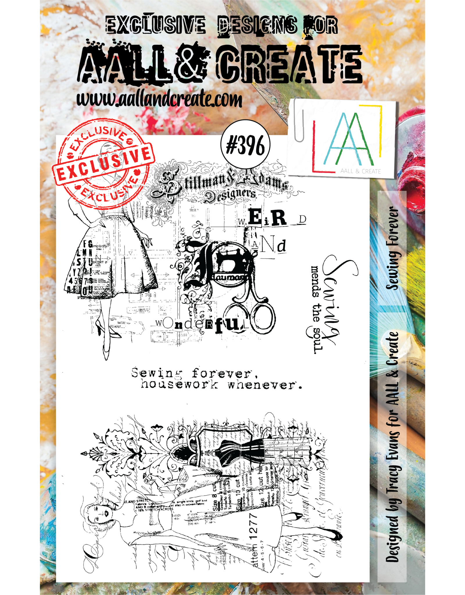 Aall& Create Aall & Create  A5  stamps #396