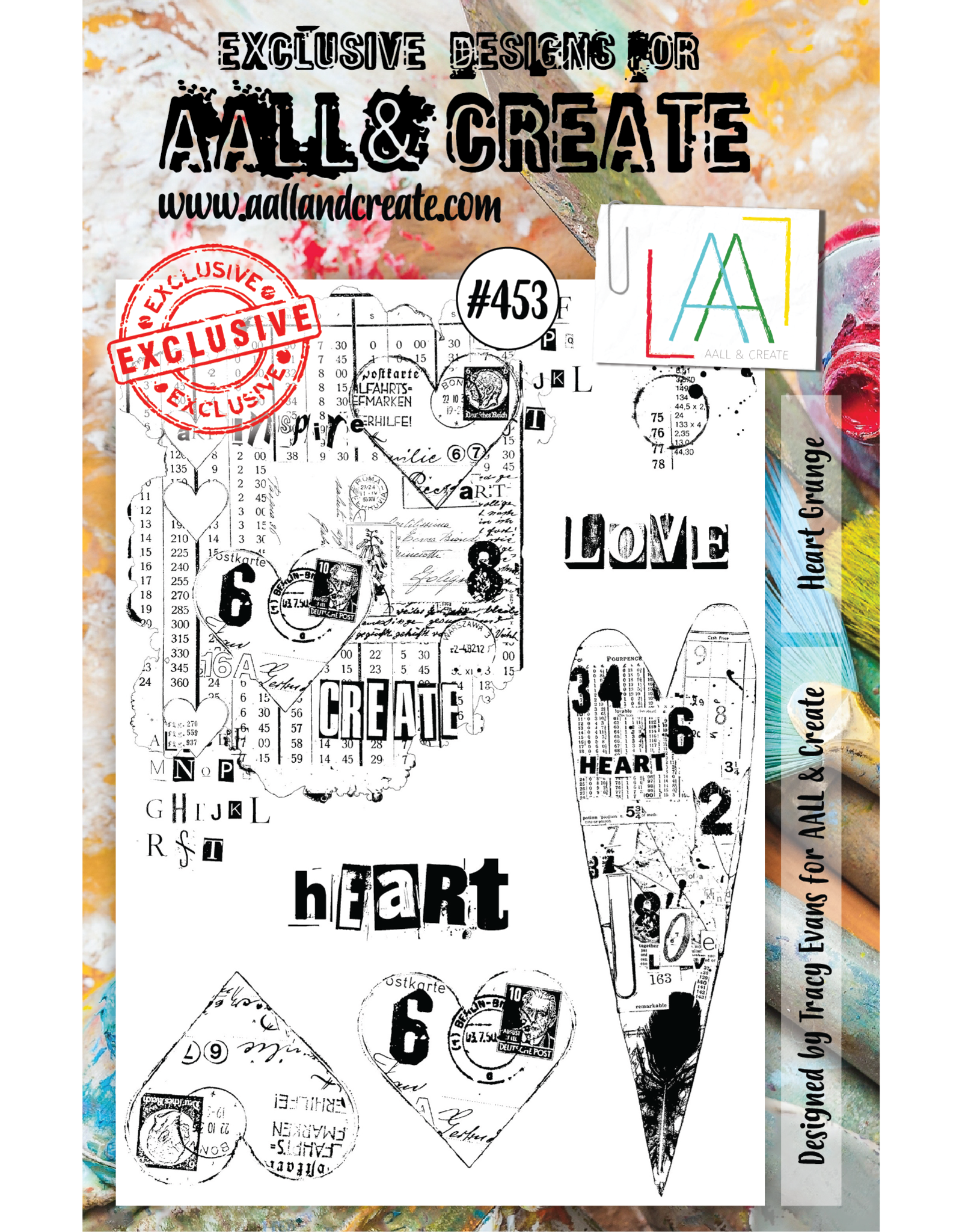 Aall& Create Aall & Create  A5  stamps #453