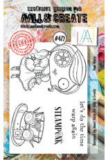Aall& Create Aall & Create  A7  stamps #472
