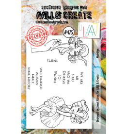 Aall& Create Aall & Create  A7  stamps #475